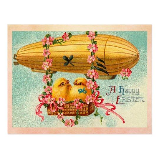 Vintage Pascua feliz Tarjeta Postal