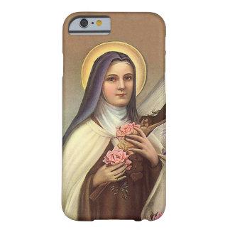 Vintage Pascua religiosa, monja con la cruz Funda De iPhone 6 Barely There