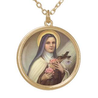 Vintage Pascua religiosa, rosas cruzados de Cristo Colgante