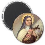 Vintage Pascua religiosa, rosas cruzados de Cristo Imán De Frigorifico