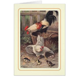 Vintage Pascua Tarjetas