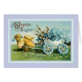 Vintage Pascua Felicitaciones