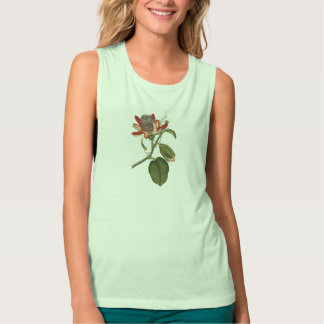 Vintage Passion Flower Tank Top