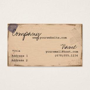 Passport business cards templates zazzle vintage passport business card colourmoves
