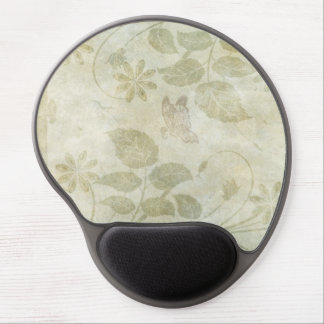 Vintage Pastel Floral Wedding Gel Mouse Pad