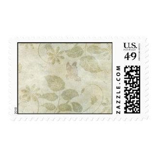 Vintage Pastel Floral Wedding Stamps