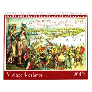 Vintage Pastimes - Calendar
