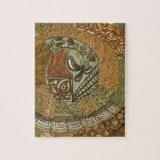 Vintage Patchwork - Brown Puzzle