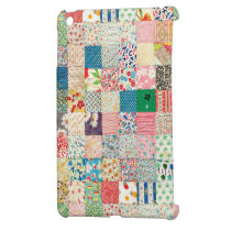 Vintage Patchwork Print Ipad Mini Case