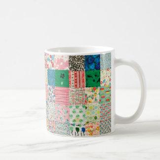 Vintage Patchwork Quilt Mug