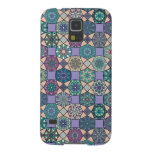 Vintage patchwork with floral mandala elements galaxy s5 case