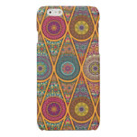 Vintage patchwork with floral mandala elements glossy iPhone 6 case