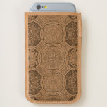 Vintage patchwork with floral mandala elements iPhone 6/6S case
