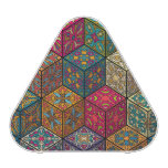 Vintage patchwork with floral mandala elements speaker