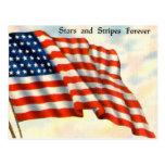 Vintage Patriotic 4th of July Postcard