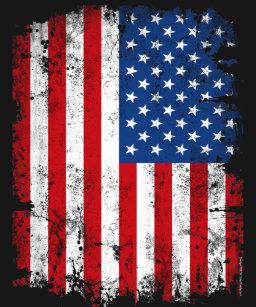 vertical american flag t shirts t shirt design printing zazzle