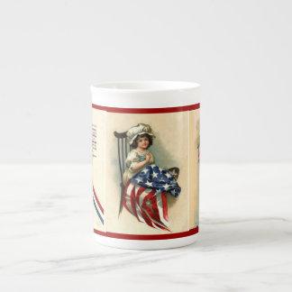 Vintage Patriotic Art Mug