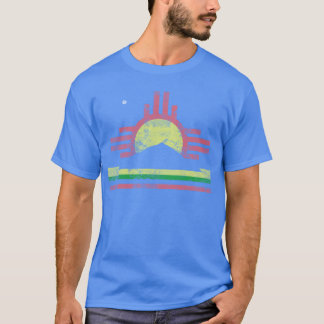 Vintage Patriotic Flag of Roswell New Mexico T-Shirt