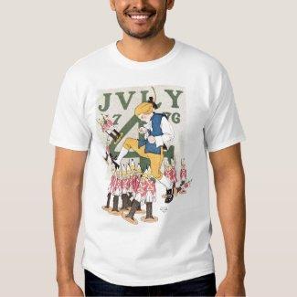 Vintage Patriotic July 4, 1776 Shirt