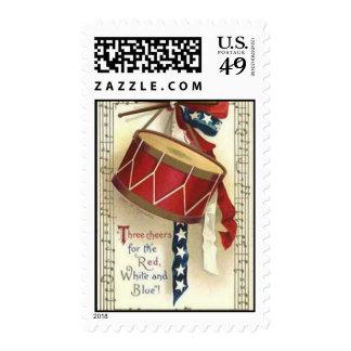 Vintage Patriotic Postage Stamp