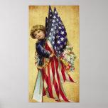 vintage patriotic Poster
