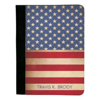 Vintage Patriotic Stars & Stripes Padfolio