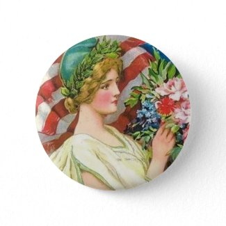 Vintage Patrioutic Pin