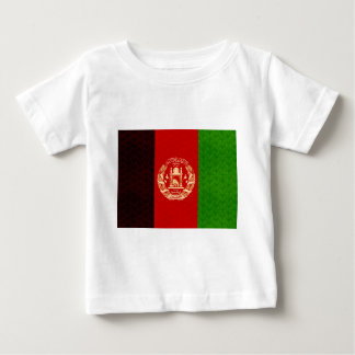 Vintage Pattern Afghan Flag Baby T-Shirt