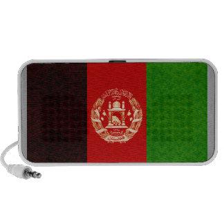 Vintage Pattern Afghan Flag Travelling Speaker