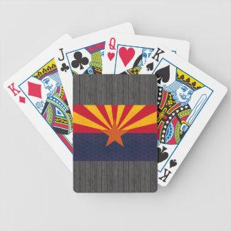 Vintage Pattern Arizonan Flag Bicycle Playing Cards