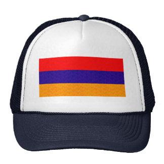 Vintage Pattern Armenian Flag Trucker Hat