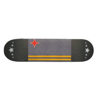 Vintage Pattern Aruban Flag Custom Skateboard