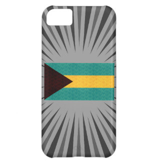 Vintage Pattern Bahamian Flag iPhone 5C Covers