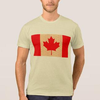 Vintage Pattern Canadian Flag Tshirts