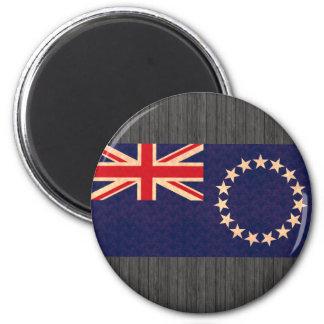 Vintage Pattern Cook Island Flag Magnet