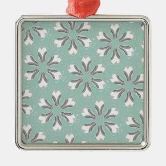 Vintage Pattern - Customize Metal Ornament