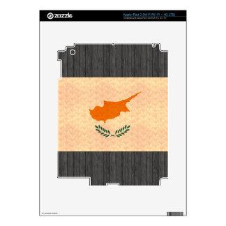 Vintage Pattern Cypriot Flag iPad 3 Decal