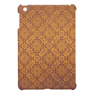 Vintage pattern floral diamonds Late Sunset Case For The iPad Mini