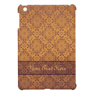 Vintage pattern floral diamonds Late Sunset (edit) Cover For The iPad Mini