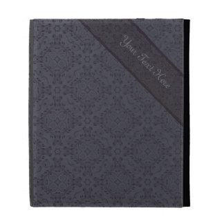 Vintage pattern floral diamonds Moonlight (edit) iPad Cases