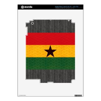 Vintage Pattern Ghanaian Flag iPad 3 Decal