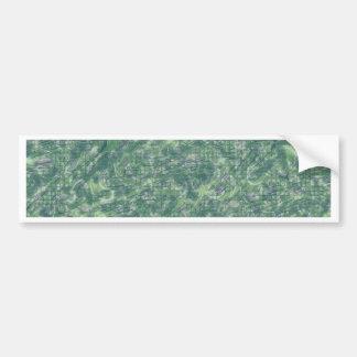 Vintage Pattern, green Bumper Stickers