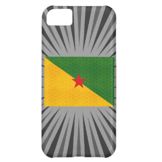 Vintage Pattern Guianese Flag iPhone 5C Cases