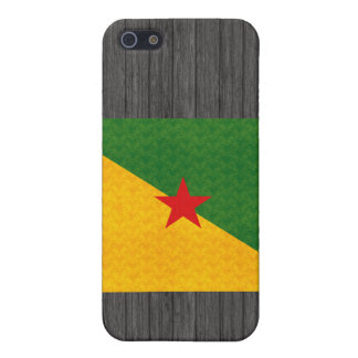 Vintage Pattern Guianese Flag Covers For iPhone 5