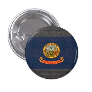 Vintage Pattern Idahoan Flag Buttons