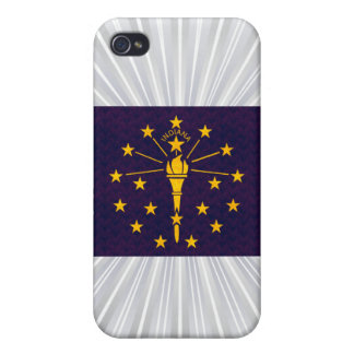 Vintage Pattern Indianan Flag Cover For iPhone 4