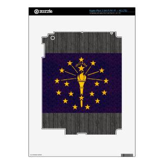 Vintage Pattern Indianan Flag Skin For iPad 3