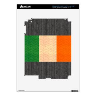 Vintage Pattern Irish Flag iPad 3 Skins