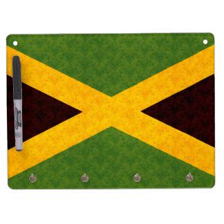 Vintage Pattern Jamaican Flag Dry-Erase Whiteboards