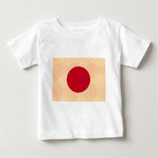 Vintage Pattern Japanese Flag Baby T-Shirt